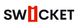 Swicket Black Logo