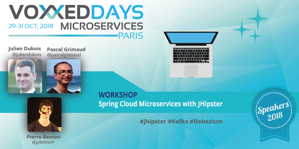 Workshop Spring Cloud Microservices with JHipster